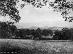 Keswick, And Derwentwater From Applethwaite Terrace c.1880