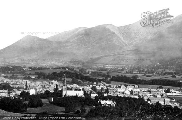 Photo of Keswick, and Skiddaw c1873, ref. 6755