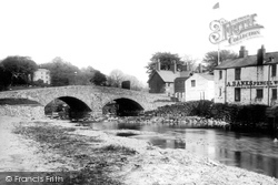 Keswick, Bridge And Greta Hall 1889