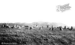 Keswick, Castlerigg, Druid Circle 1895