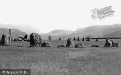 Keswick, Castlerigg Stone Circle 1889