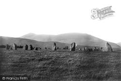 Keswick, Castlerigg, Stone Circle 1895