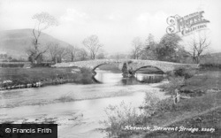 Keswick, Derwent Bridge 1889