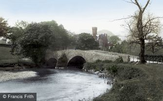 Keswick, Derwent Bridge 1889