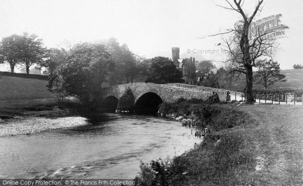 Keswick, Derwent Bridge and Tower Hotel 1889