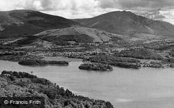 Keswick, Derwentwater And Blencathra c.1955