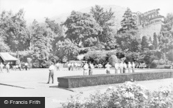 Keswick, Fitz Park c.1950
