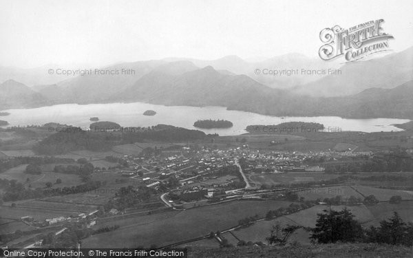 Keswick, from Latrigg 1889.  (Neg. 22079)  � Copyright The Francis Frith Collection 2008. http://www.francisfrith.com