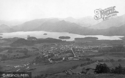Keswick, From Latrigg 1889