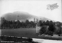 Keswick, Hotel And Latrigg 1895