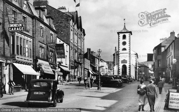 Photo of Keswick, Market Square and Moot Hall 1951, ref. K12056