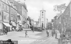 Keswick, Market Square And Moot Hall c.1950
