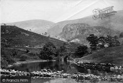Keswick, St John's Vale, Castle Crag c.1873