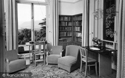 Keswick, The Library, Underscar House c.1950