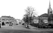 Kettering, George Hotel And Sheep Street 1957