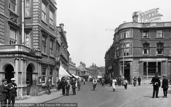 Kettering, High Street 1922.  (Neg. 72227)  © Copyright The Francis Frith Collection 2008. http://www.francisfrith.com