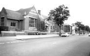 Kettering, Library And Sheep Street c.1965