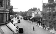 Kettering, Market Place c.1950