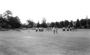 Kettering, Rockingham Road Pleasure Gardens c.1965