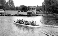 Kettering, The Boating Lake c.1955