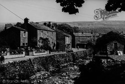 Kettlewell, View From The Race Horses Hotel c.1939