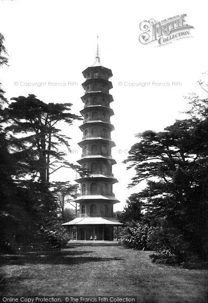 Kew Gardens Phone No: Kew, Kew Gardens, The Pagoda 1899