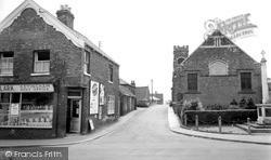 Methodist Church And Ings Lane c.1955, Keyingham