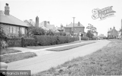 School Lane c.1955, Keyingham
