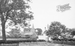 The Village And Church c.1955, Keyingham