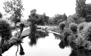 Keynsham, River Chew c1960
