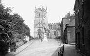 Kidderminster, Church Street and St Mary and All Saints Church 1931
