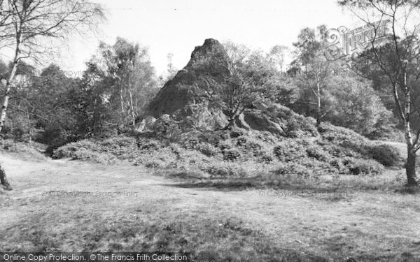 Photo of Kidderminster, Habberley Valley, Peckett Rock c.1960
