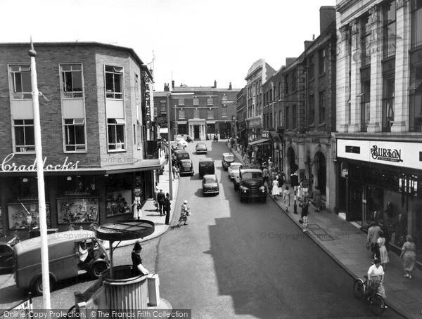 photo of kidderminster  high street c 1960