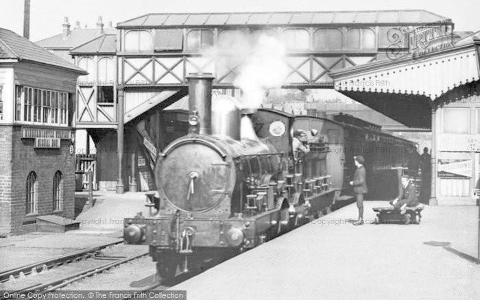 Photo of Kidderminster, Railway Station c.1900