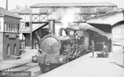 Kidderminster, Railway Station c1900
