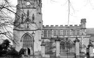 Kidderminster, St Mary's Parish Church c1950