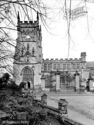 St Mary's Parish Church c1950 Ref: K16004