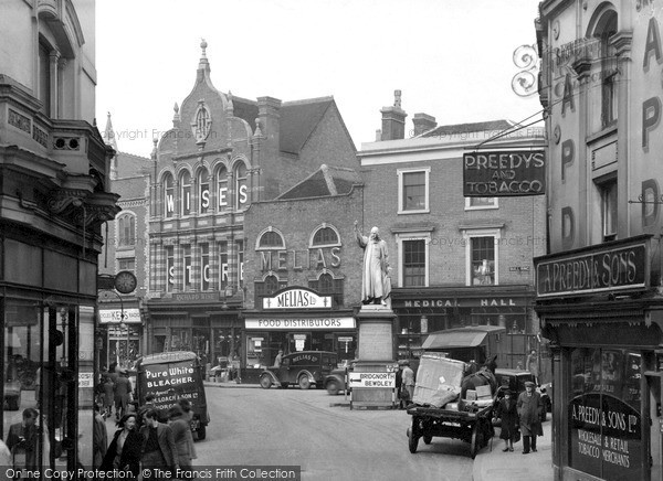 Photo Of Kidderminster The Bull Ring C 1950 Francis Frith
