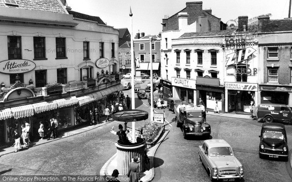 Photo of Kidderminster, Town Centre 1957