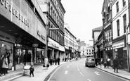 Kidderminster, Vicar Street c1970