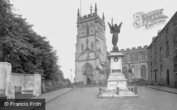 Kidderminster, War Memorials And St Mary And All Saints Church 1931