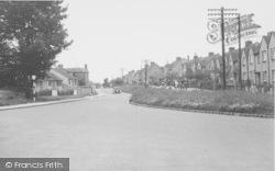 Evan's Lane, Springfield Estate c.1955, Kidlington