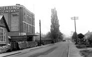 Kidlington, High Street and Sterling Cinema c1950