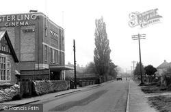 High Street And Sterling Cinema c.1950, Kidlington