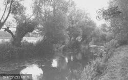 River Cherwell c.1955, Kidlington