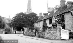 St Mary's Church And Cottages c.1955, Kidlington