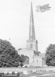 St Mary's Church c.1960, Kidlington