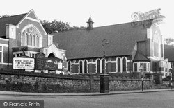 Methodist Church c.1960, Kidsgrove