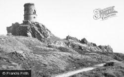 Kidsgrove, Mow Cop Castle c.1960