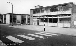 Post Office And  Library c.1965, Kidsgrove